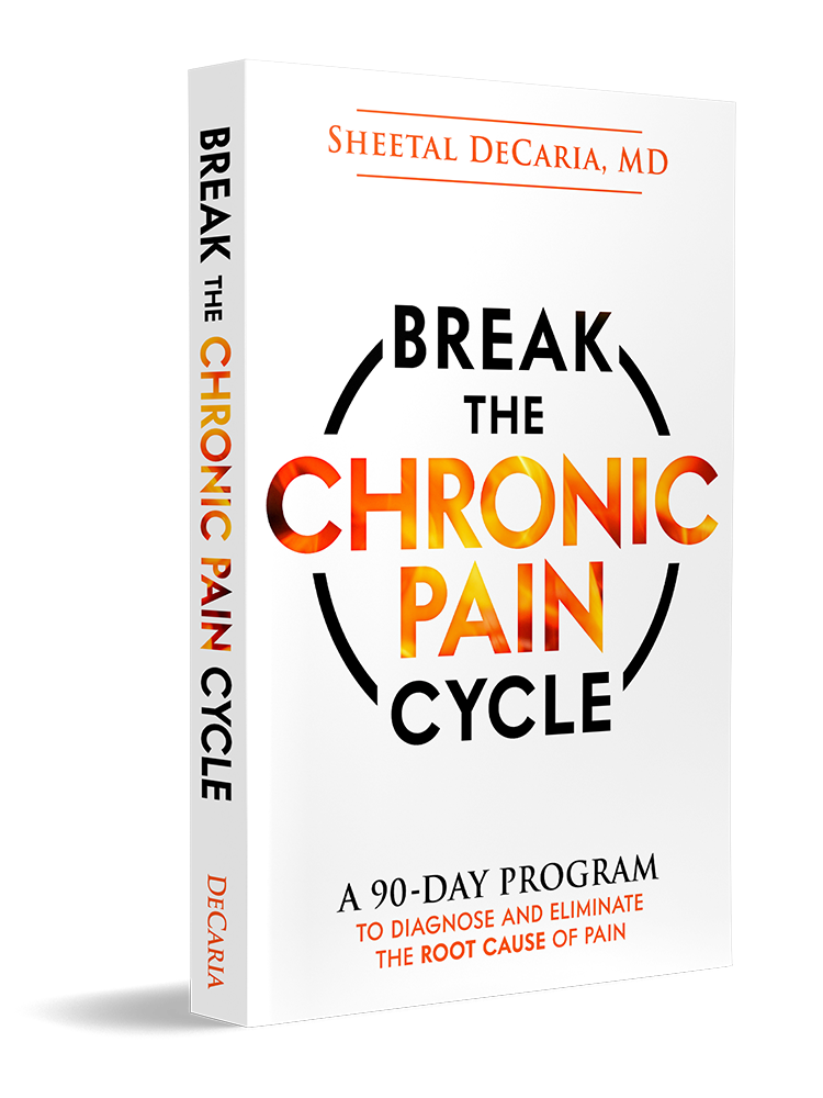 Break The Chronic Pain Cycle Book Dr Decaria